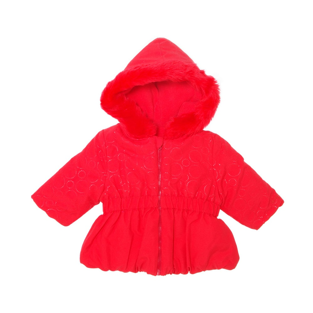 agatha ruiz de la prada bright red hooded coat. Black Bedroom Furniture Sets. Home Design Ideas