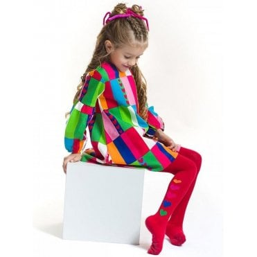 Dress And Tights Multicolour