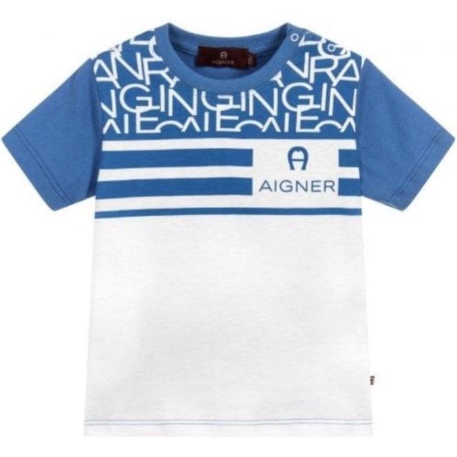 AIGNER T-shirt Blue