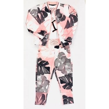 3 Pc Tracksuit Pink