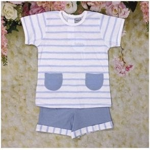 Short Set Blue