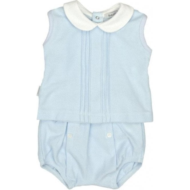 BABIDU Top And Shorts Blue