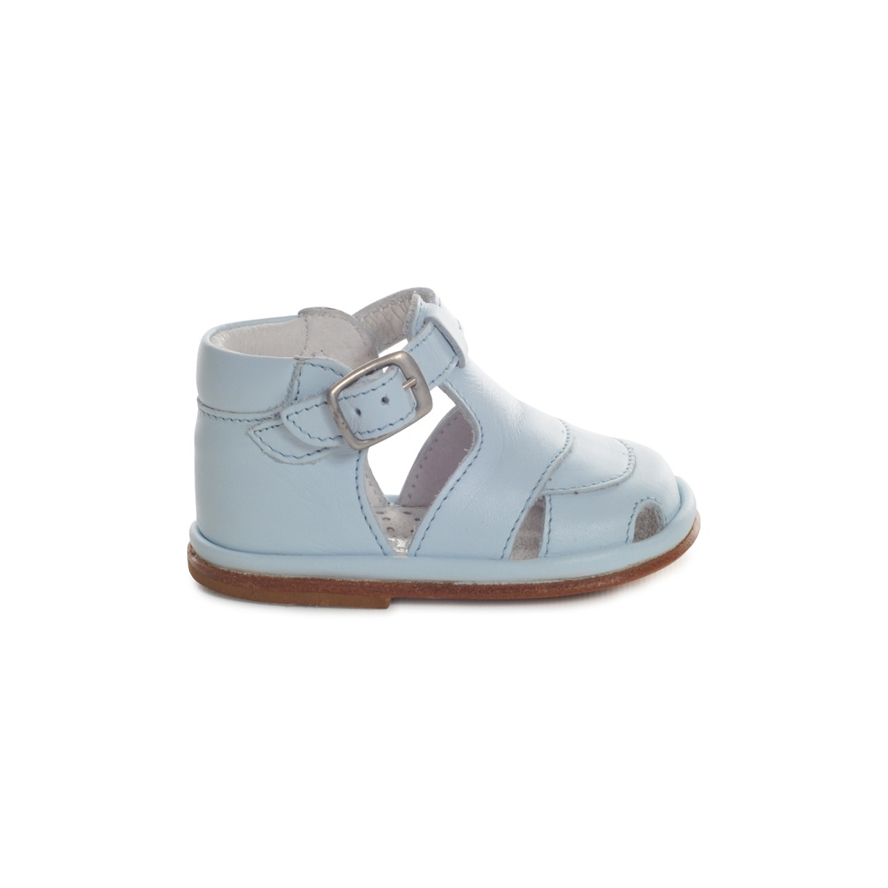 Baby Shoes Pale blue patent leather