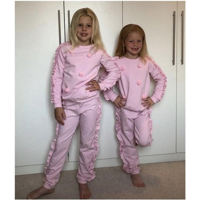 BALLOON CHIC Tracksuit Pink