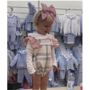 Romper And Shirt Pink/grey