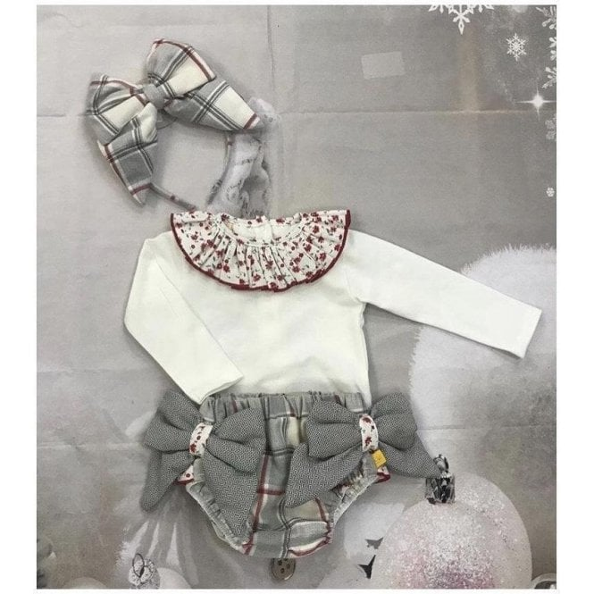 CHUA Top And Jam Pants Grey/red/white