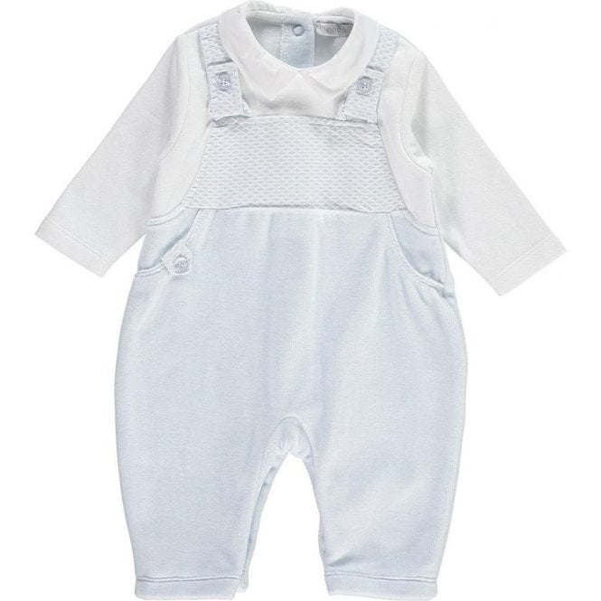 COCO All In One Dungaree White/blue