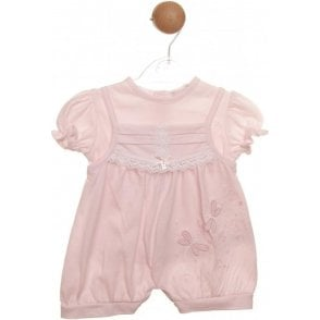 Top And Romper Pink