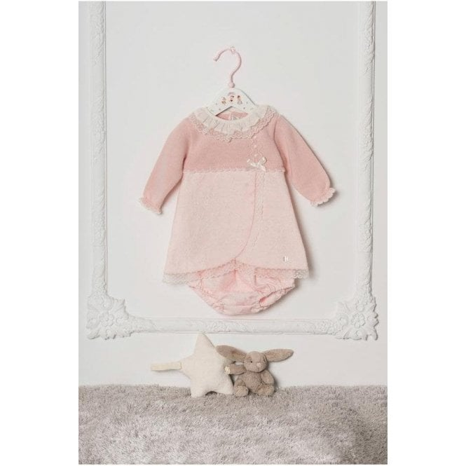 DOLCE PETIT Dress & Knickers Pink/cream