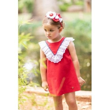 Dress Red Navy & White