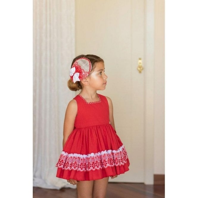 DOLCE PETIT Dress Red