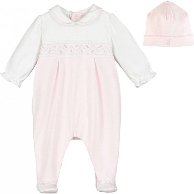 EMILE ET ROSE All In One & Hat Pink