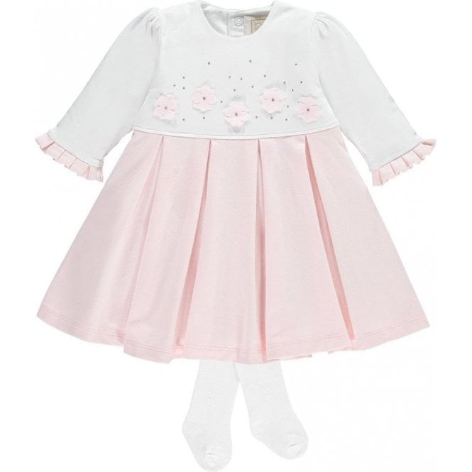 EMILE ET ROSE Dress And Tights Pink