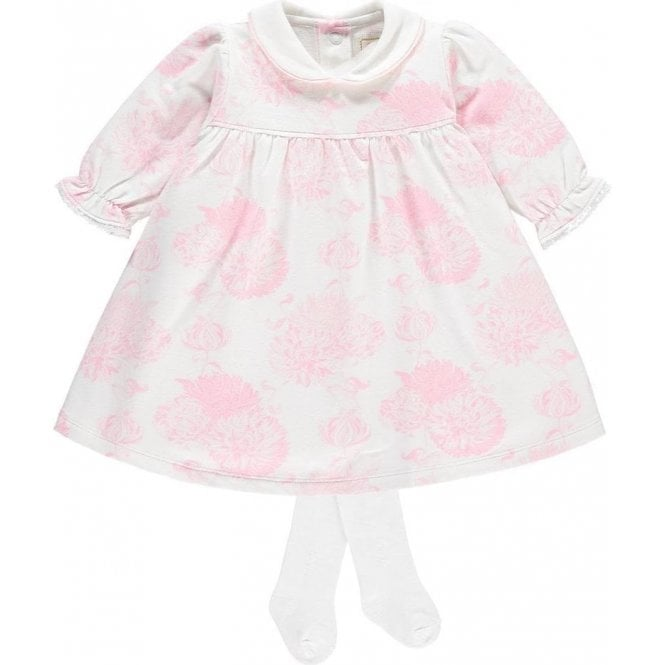 EMILE ET ROSE Dress & Tights Pink