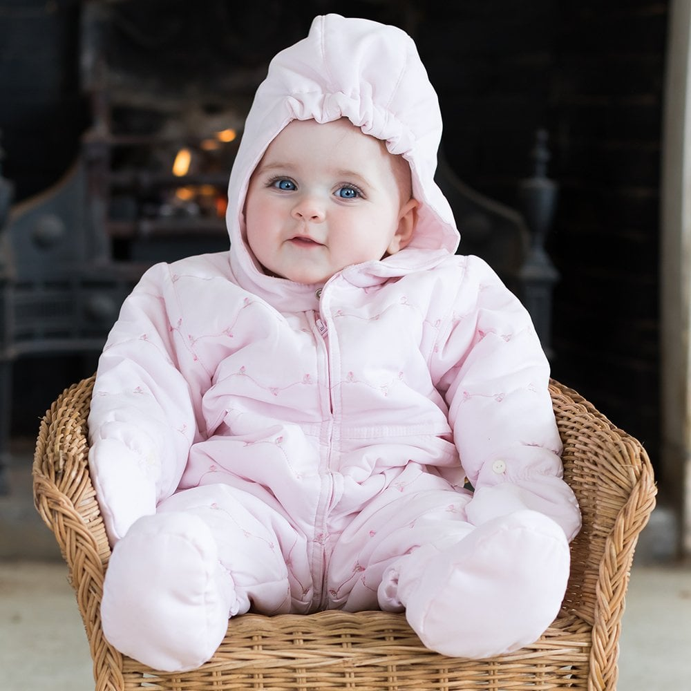 Emile Et Rose Snowsuit Pink Girls From Baby Melanie Uk