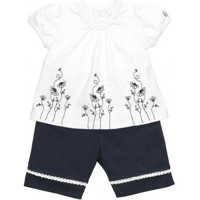 EMILE ET ROSE Top And Shorts Navy
