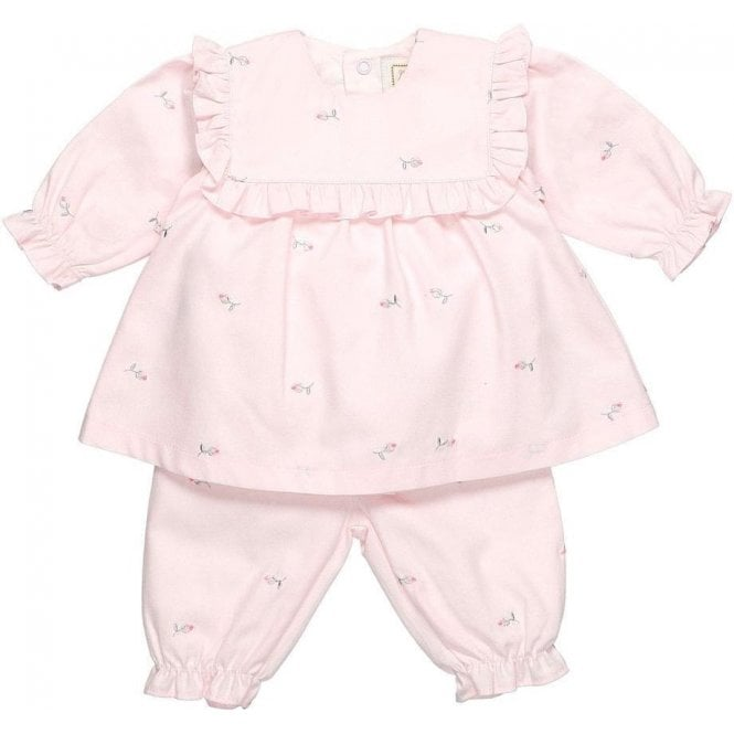 EMILE ET ROSE Top And Shorts Pink