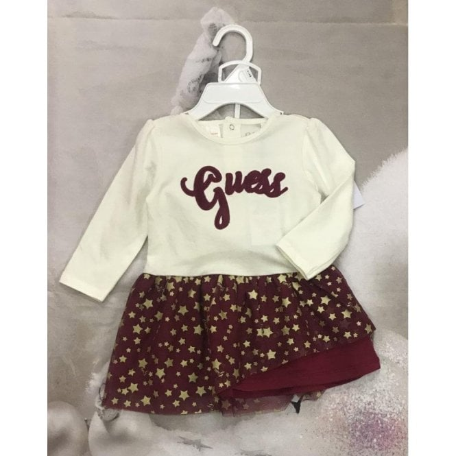 GUESS KIDS 2 Piece Red/ivory