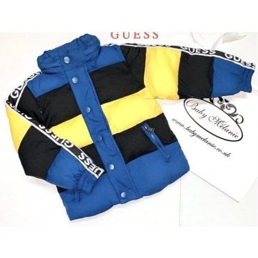 Coat Yellow/navy/blue