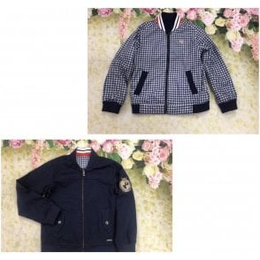 Jacket Navy/red