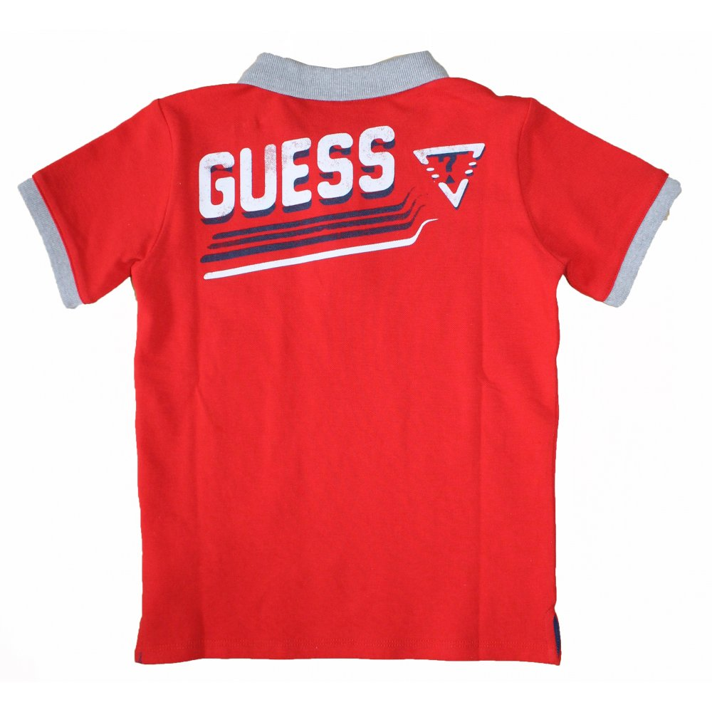 home boys guess kids guess kids t shirt red. Black Bedroom Furniture Sets. Home Design Ideas