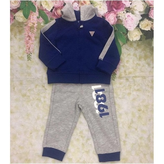 GUESS KIDS Tracksuit Blue