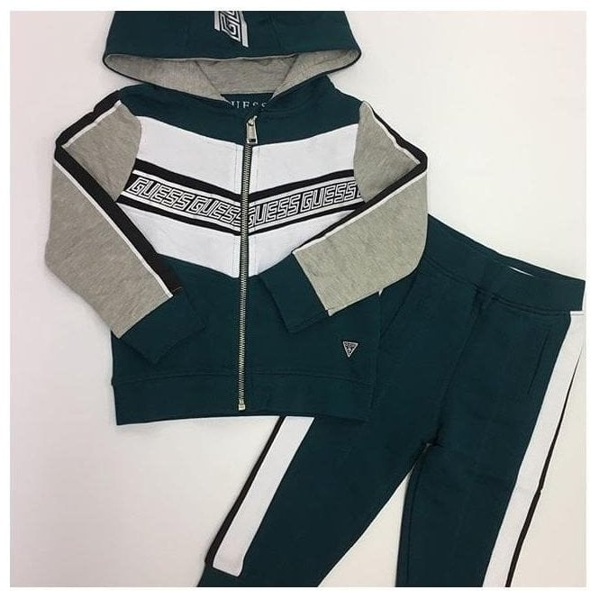 GUESS KIDS Tracksuit Green