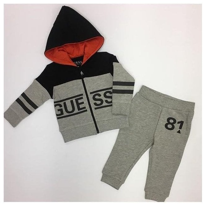 GUESS KIDS Tracksuit Navy/grey