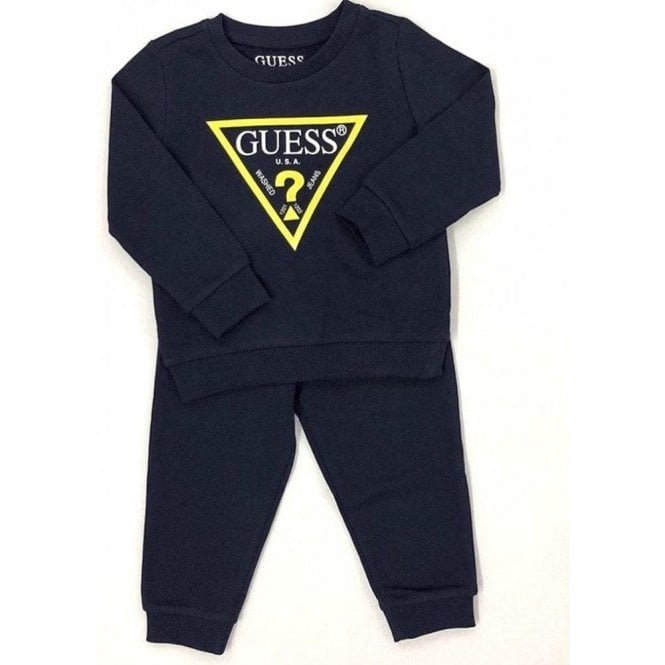 GUESS KIDS Tracksuit Navy