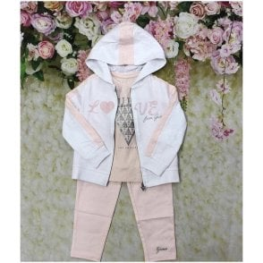Tracksuit Pink/white