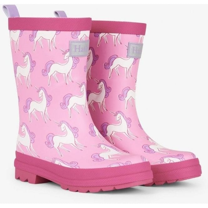 HATLEY Wellies Pink