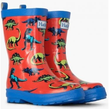 Wellies Red/blue