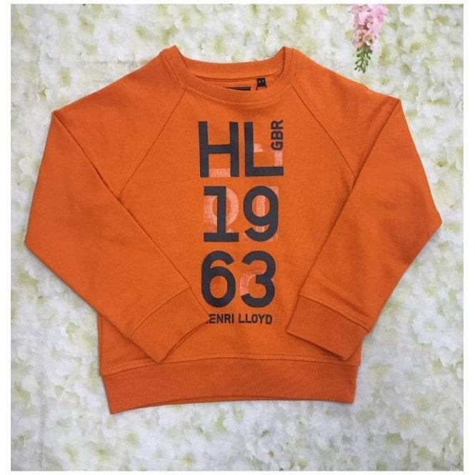 HENRI LLOYD Sweat Shirt Orange