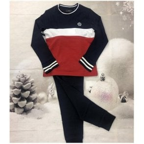Tracksuit Navy/white/red