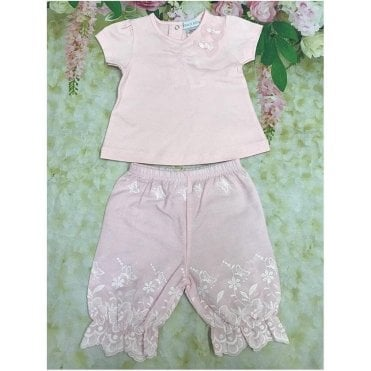 Top And Shorts Pink
