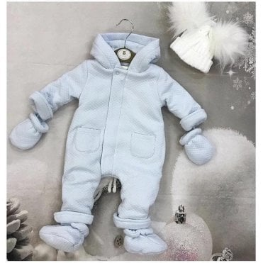 Snow Suit Blue