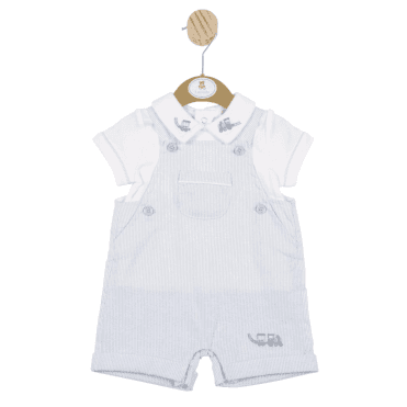 Top And Short Dungaree Blue