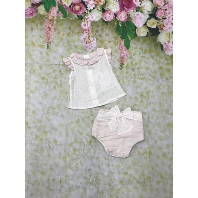 MIRANDA 2-piece Cream/pink