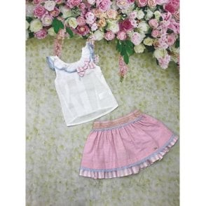 Top And Skirt Pink