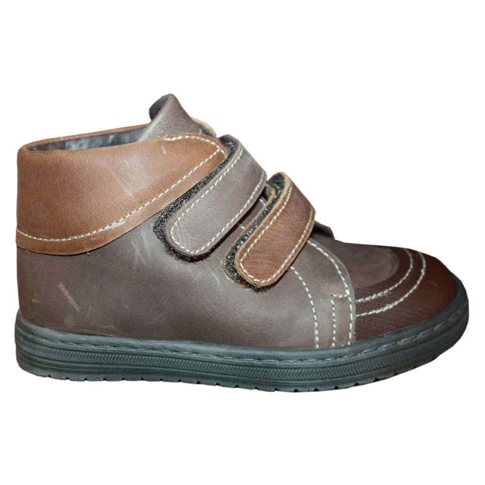 Panyno Brown leather shoes