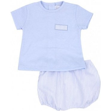 Top And Bloomers Blue
