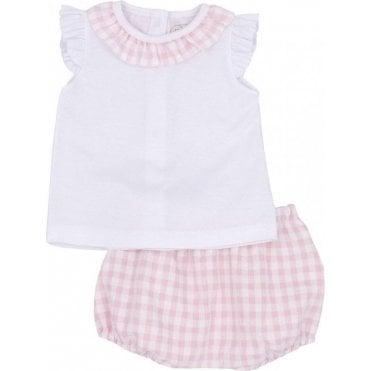 Top And Bloomers Pink
