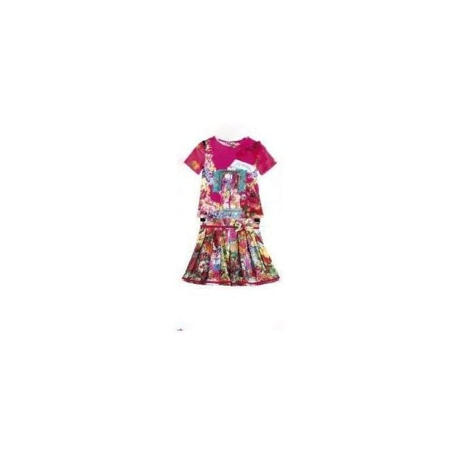 ROSALITA SENORITAS Top & Skirt Multicolour