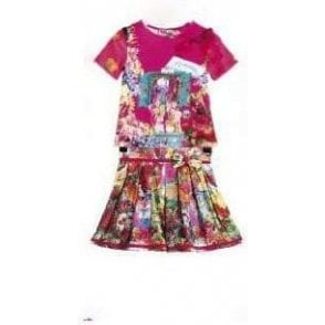 Top & Skirt Multicolour
