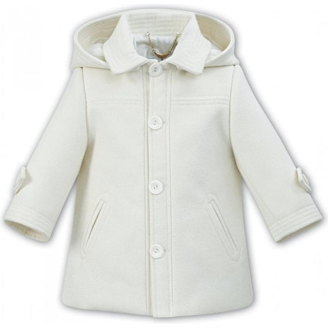 SARAH LOUISE Coat Cream
