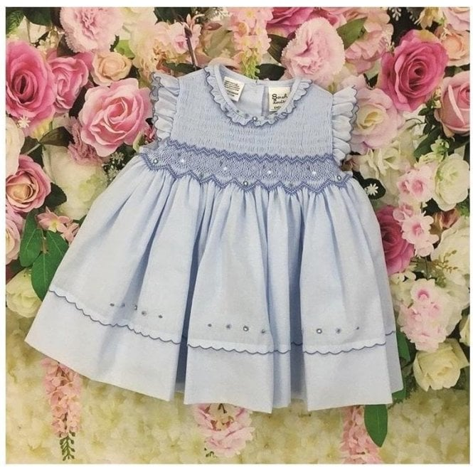 SARAH LOUISE Dress Blue