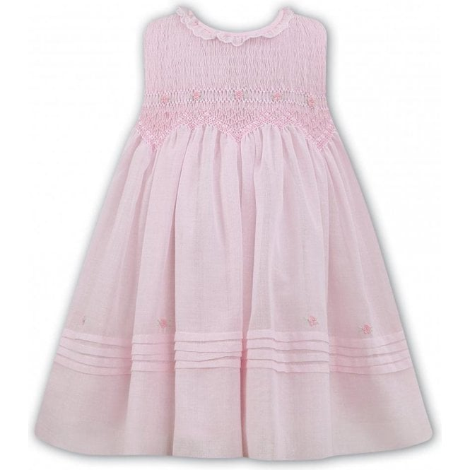 SARAH LOUISE Dress Pink/white