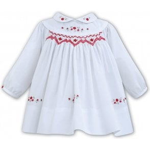 Dress White/red