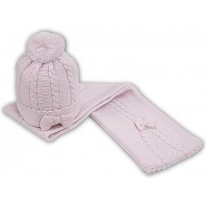 Hat & Scarf Pink