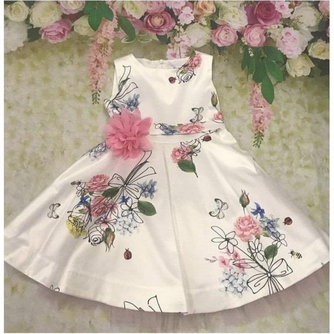 SPECIAL DAY Dress White/pink